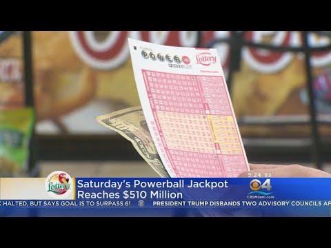 Powerball Jackpot Now Over Half A Billion Dollars