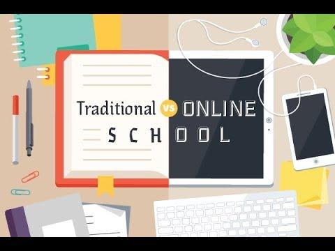Online courses vs Traditional program