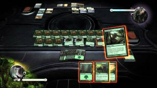 Duels of the Planeswalkers 2013 Gameplay Video -- Russian