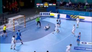 Croatia v Hungary Preliminary Rd handball 2013  Game 3