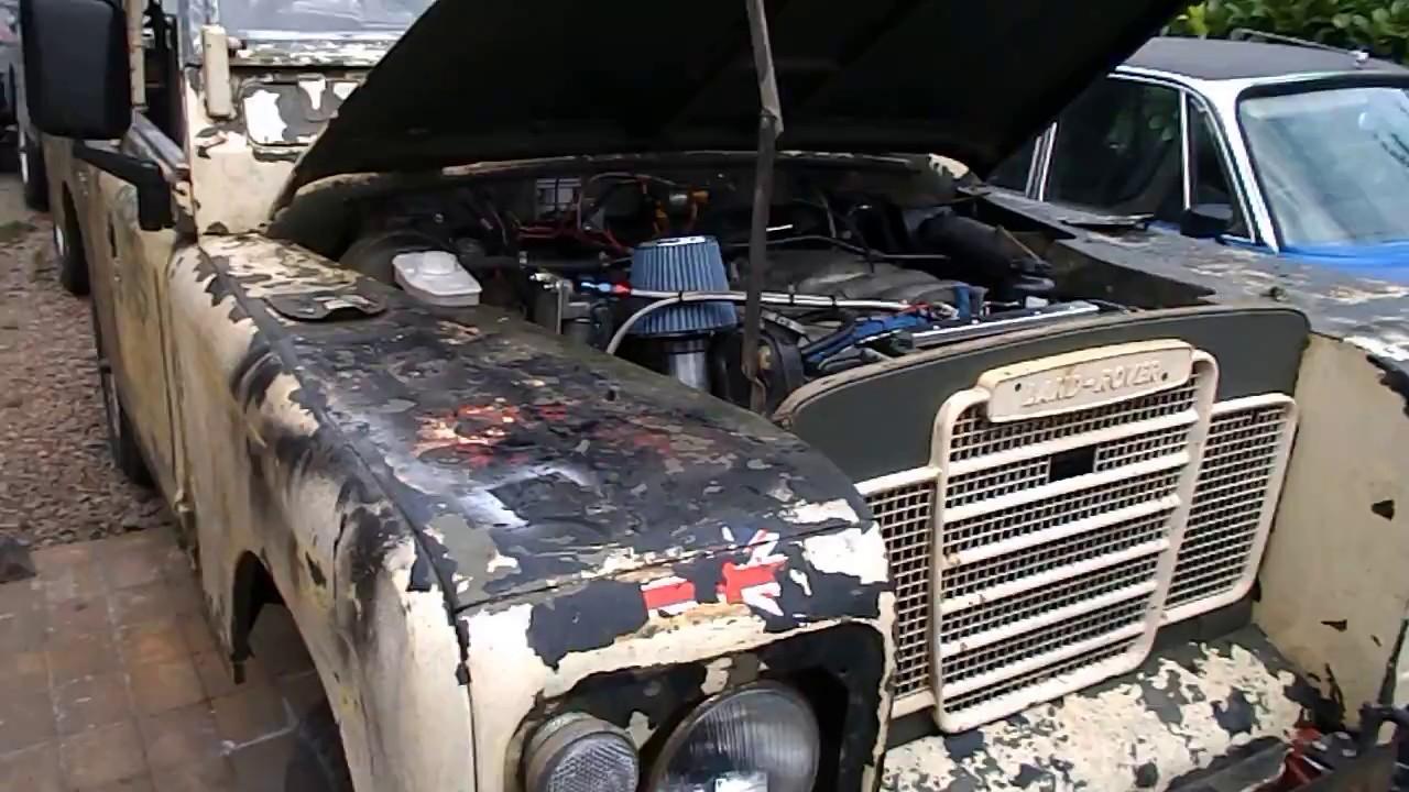 84 Land Rover ex-MOD 109, OM606 hi-cap   Retro Rides