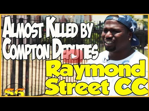 Raymond Street Compton Crip member details getting shot by the police and being declared dead