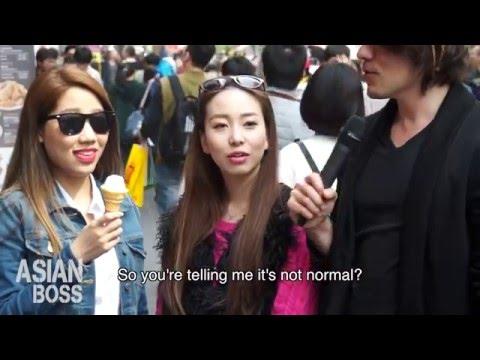 girl Asian group japanese