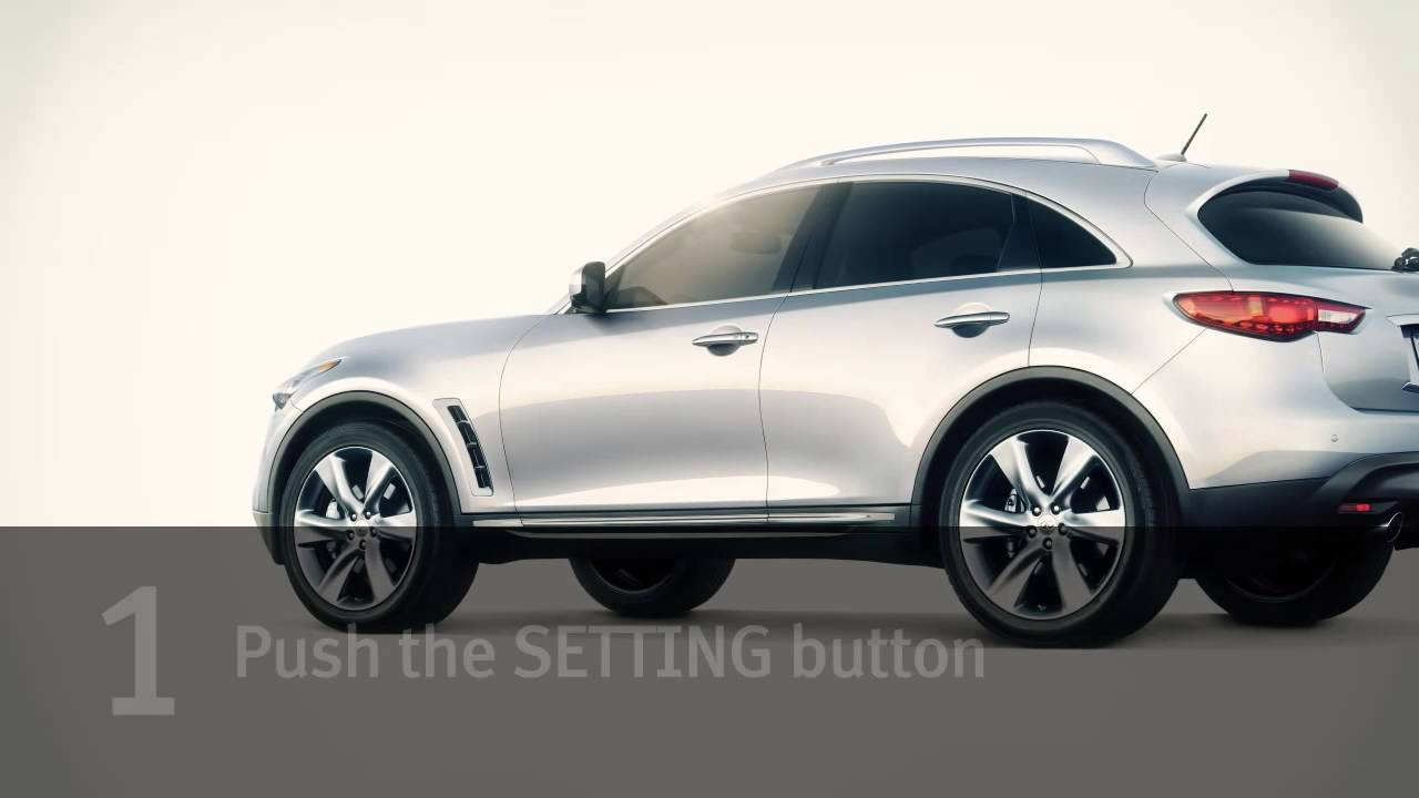 2013 infiniti fx distance control assist dca if so equipped 2013 infiniti fx distance control assist dca if so equipped vanachro Image collections