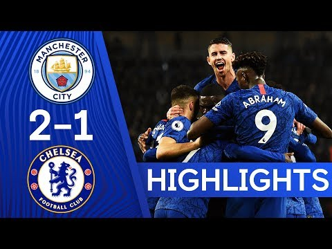Manchester City 2-1 Chelsea | N'Golo Kanté On Target Again With Opening Stunner 🎯 | Highlights