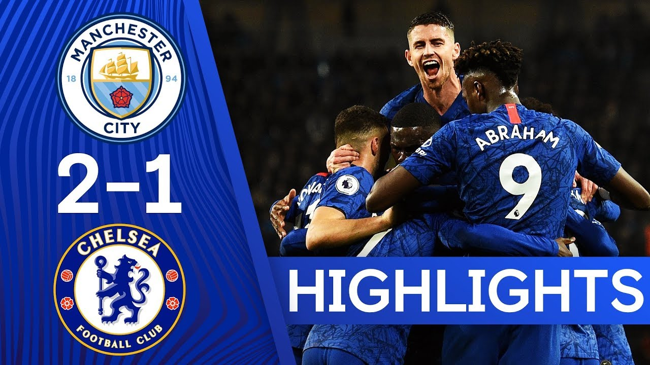 Manchester City 2-1 Chelsea | N'Golo Kanté on Target Again With Opening Stunner