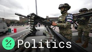 Mexico Celebrates Independence Day With Military Parade Amid Coronavirus Pandemic