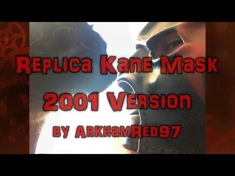 Replica Kane Mask 2001 Version, Review by BurnoutInc, Mask by ArkhamRed97