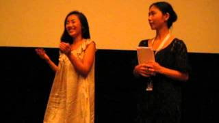 Q&A # 1 with actress Megumi Kaguraza for the premiere of Sion Sono'...