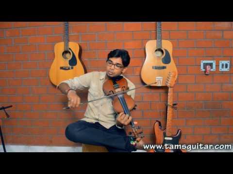 Vaishnava janato on Violin - Indian Classical Violin Classes at Music Circle in Kolkata