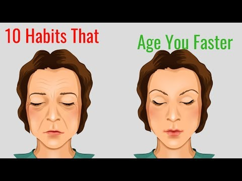 10 Habits That Age You Faster Premature Aging