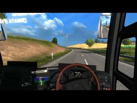 Bus Pariwisata full musik ETS2