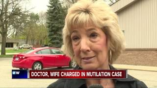 Doctor, wife charged in mutilation case