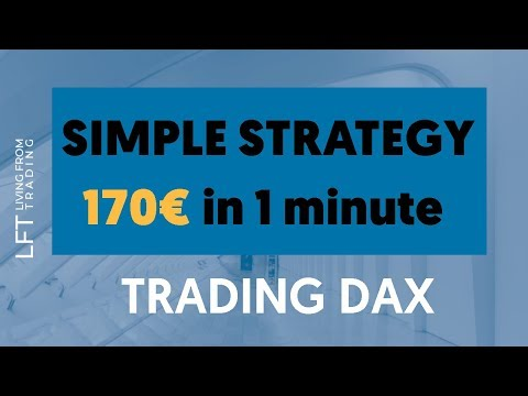 Simple Strategy – 170 € in 1 minute Trading DAX