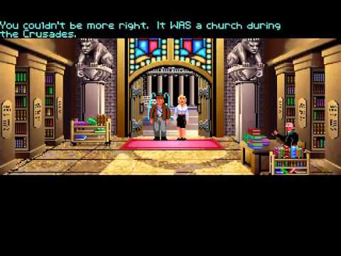Indiana Jones and the Last Crusade (PC VGA) - Longplay