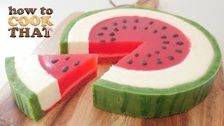 SUMMER WATERMELON DESSERT How To Cook That Ann Reardon Watermelon Week