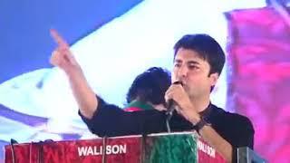Murad Saeed latest speech in jalsa with imran khan