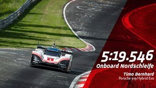 369 km/h on the Nordschleife | Lap Record Porsche 919 Hybrid Evo