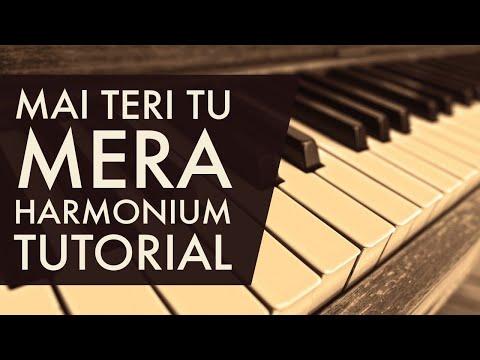 Main Teri Tu Mera | Punjabi Harmonium Tutorial