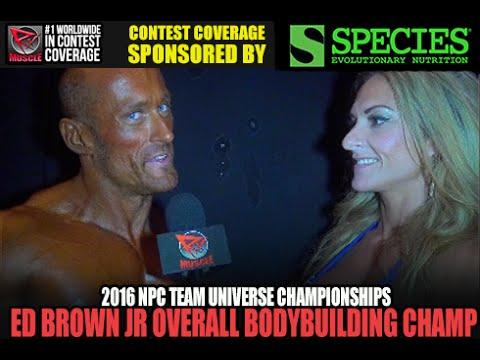 Edward Brown Jr Wins Overall Bodybuilding At NPC Team Universe 2016
