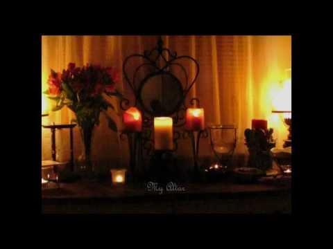 Ostara Greetings, Ostara ritual candles Info