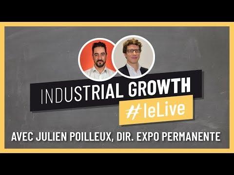 Les salons professionnels en ligne dans l'industrie avec Julien Poilleux de l'Expo Permanente