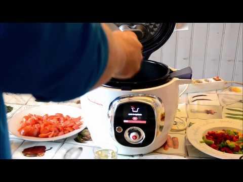 recette-cookeo-:escalope-de-poulet-basquaise