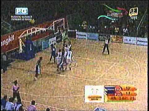 Philippines vs. Thailand - 2011 Southeast Asian Games basketball
