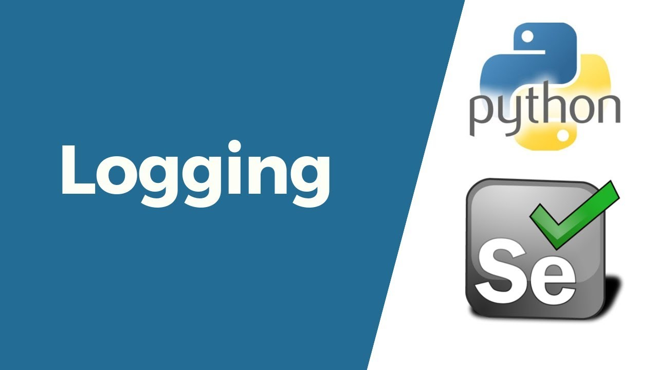 Selenium with Python Tutorial 29-Logging | Generate log file