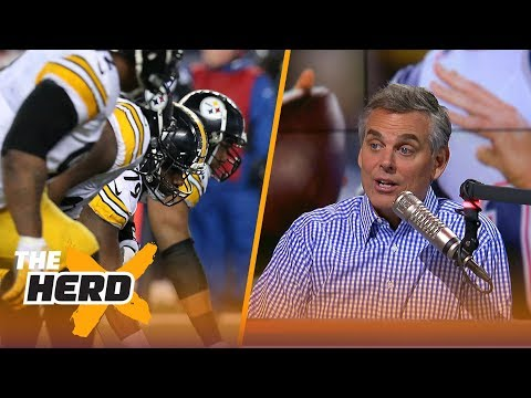 Patriots and Steelers are the teams to beat in the AFC according to Colin Cowherd | THE HERD