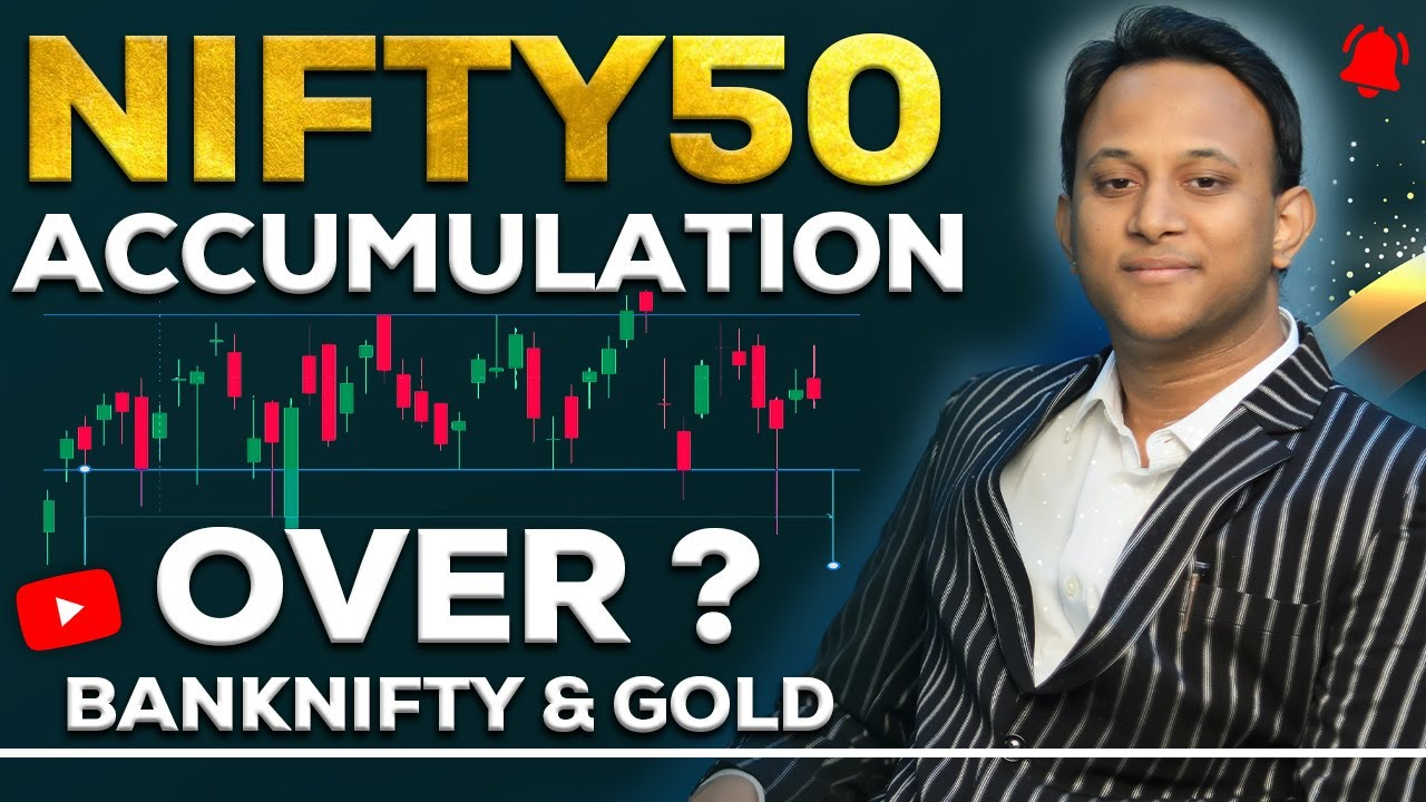 Is Nifty50 Accumulation over ?  Banknifty and Gold Expectation in coming week | with English Sub