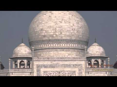 TAJ MAHAL - AGRA, INDIA - Mughal Architecture at its Best