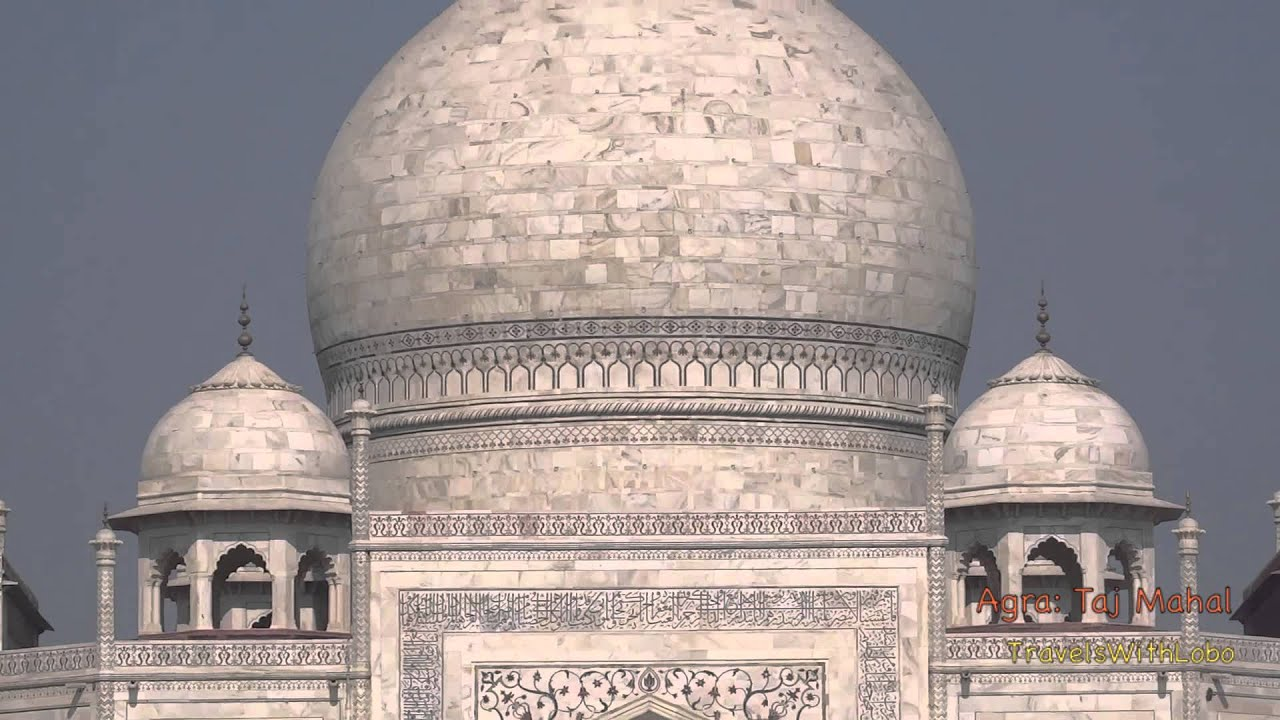 Taj Mahal Agra India Mughal Architecture At Its Best