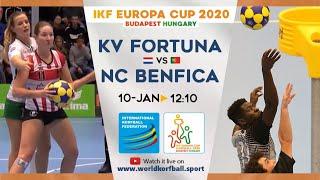 IKF ECup 2020 KV Fortuna - NC Benfica