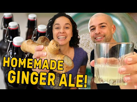 How to Make Homemade Ginger Ale Soda with Real Ginger | The Fermentation Adventure