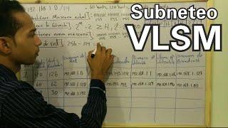 Subneteo VLSM (VLSM Subnetting). Como crear subredes con el método de VLSM.