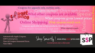 How to Get Best and Lowest Online Prices for Shopping in India(, 2014-08-29T14:00:38.000Z)