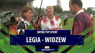 Retro TVP Sport: Ekstraklasa 1996/97, Legia Warszawa – Widzew Łódź