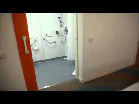 Ibis Styles Excel London bedroom for those with disabilities