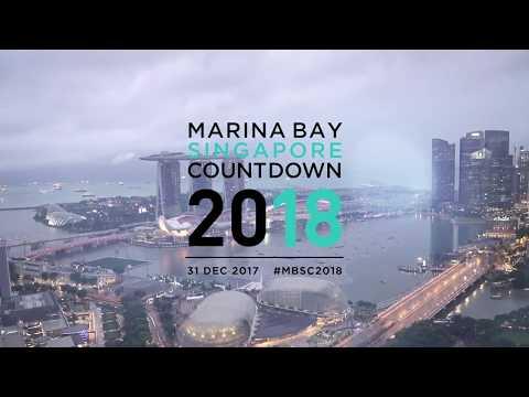 Marina Bay Singapore Countdown 2018 Highlights