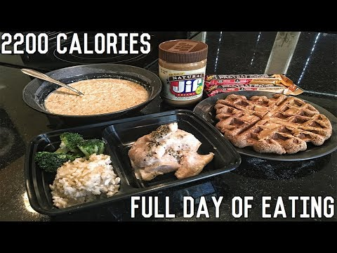 FULL DAY OF EATING | Shredding Diet