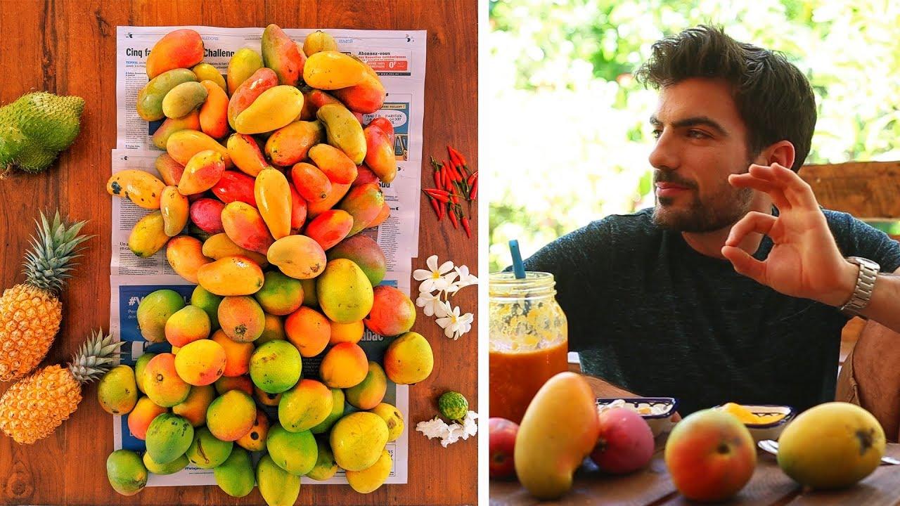 MANGUES : Sorbet sans machine, Poé et smoothie