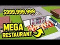 BUILDING THE BIGGEST RESTAURANT In RESTAURANT TYCOON mp3