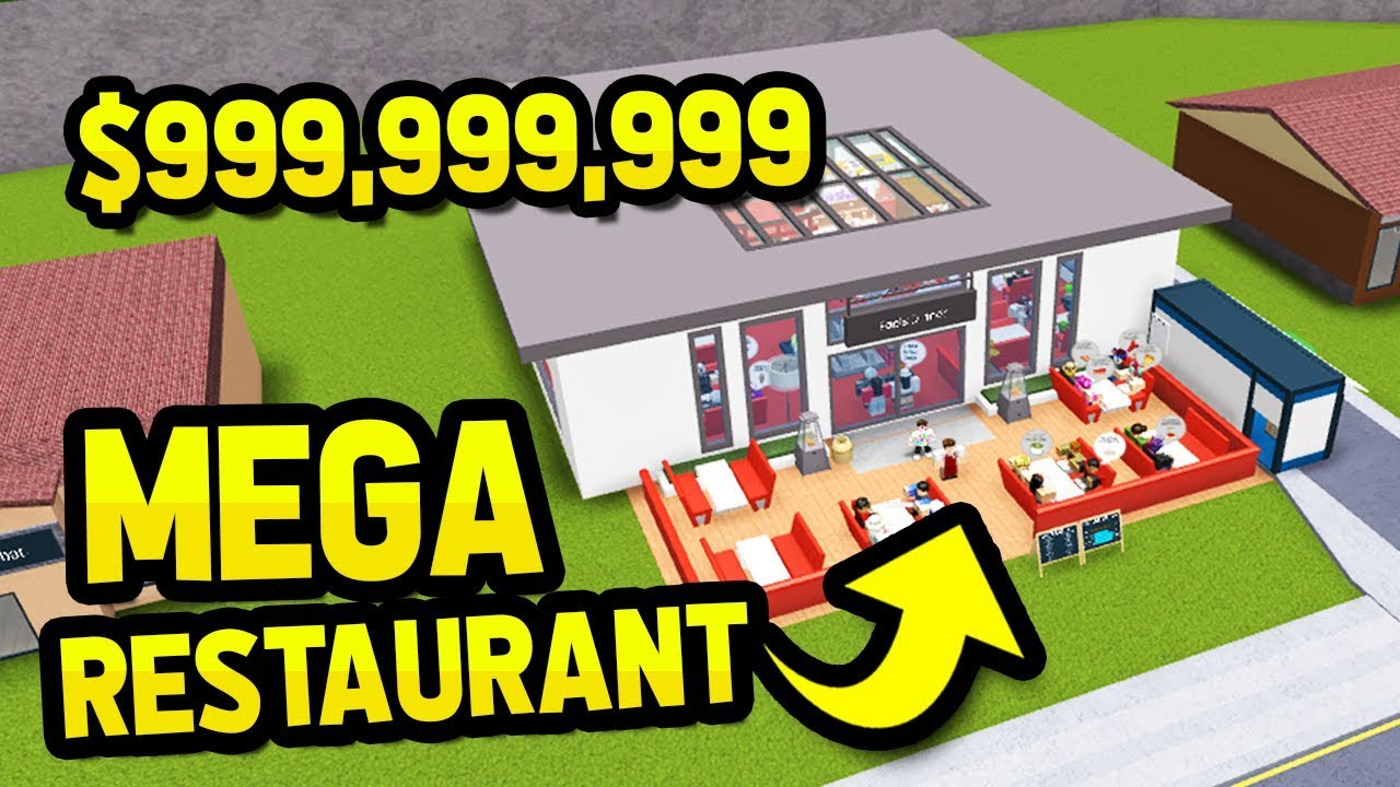 Building The Biggest Restaurant In Restaurant Tycoon Youtube