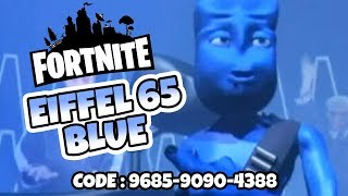 EIFFEL 65 - Blue Music Map 🎵 The Best Fortnite Creative Mode Maps + Code