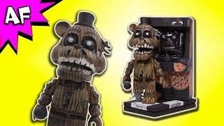 McFarlane Five Nights at Freddy s Phantom Freddy w Arcade Cabinet Speed Build