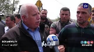 قوات الاحتلال تهدم منزل الشهيد عمر أبو ليلى في سلفيت (24-4-2019)