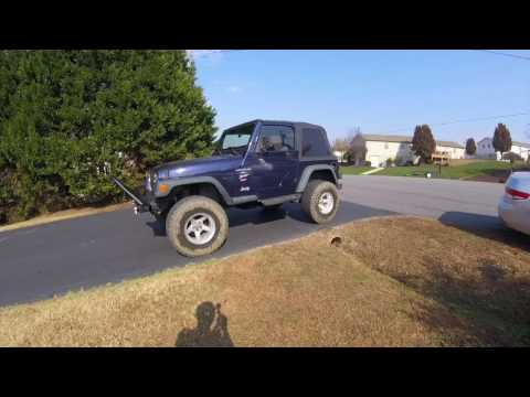 Jeep Wrangler TJ Before and After