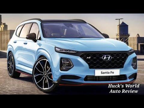 2019 Hyundai Santa Fe Redesigned SUV