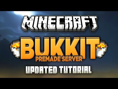 How To Start Server In Minecraft Bukkit Updated